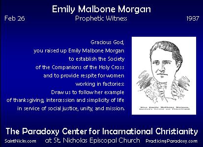 Feb 26 - Emily Malbone Morgan