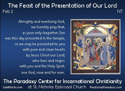 Feb 2 - Feast of the Presentation