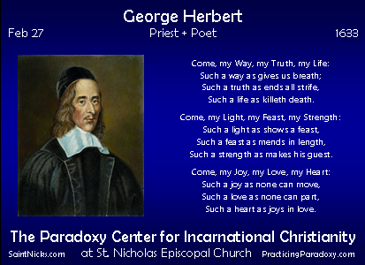 Feb 27 George Herbert