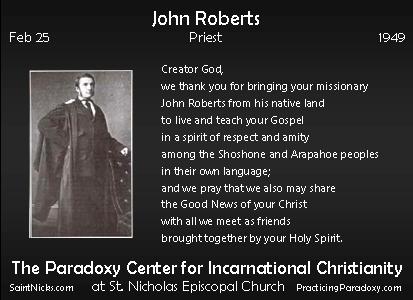 Feb 25 - John Roberts