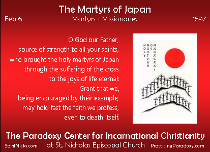 Feb 6 - The Martyrs of Japan