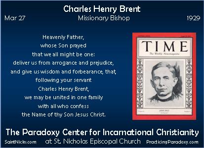 Mar 27 - Charles Henry Brent