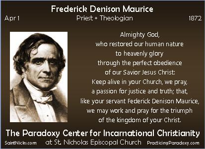 Apr 1 - F. D. Maurice