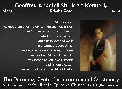 Mar 8 - Geoffrey Kennedy