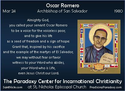 Mar 24 - Oscar Romero