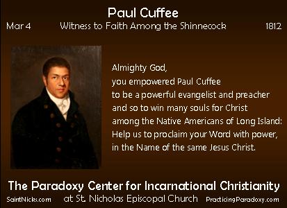 Mar 4 - Paul Cuffee
