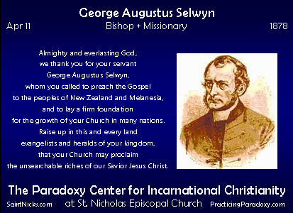 Apr 11 - George Augustus Selwyn