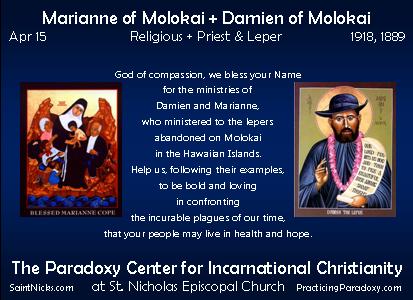 Apr 15 - Marianne & Damien of Molokai