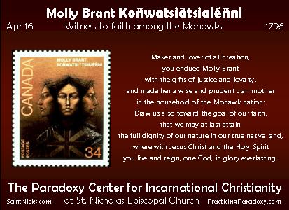Apr 16 - Molly Brant