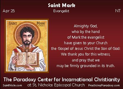 Apr 25 - Saint Mark