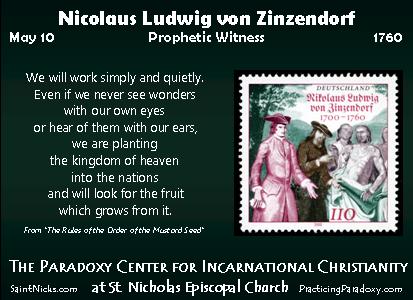 Illumination - Nicolaus Ludwig von Zinzendof
