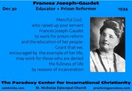 Dec 30 – FrancesJoseph-Gaudet